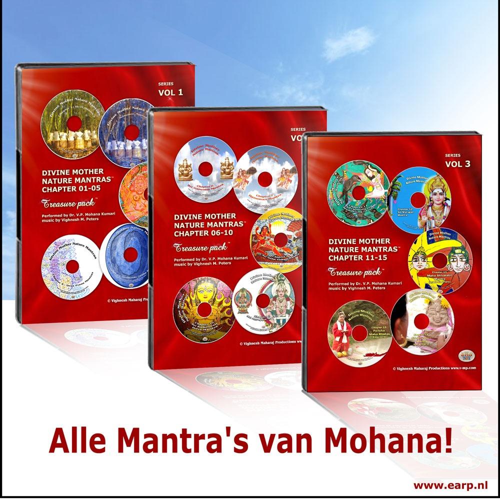 Alle Mantras van Mohana bestellen